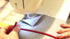Светлана Пояркова показывает как можно втачать кант без наметки в любой шов. Другие уроки по шитью вы найдете на Осинке - http://www.osinka.ru/Di-os/
