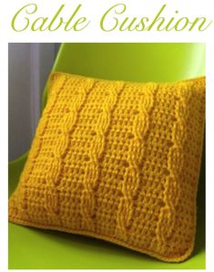 STORE | Sarah London Zig Zag Crochet, Crochet Cable, Quick Crochet, Crochet Home, Love Crochet, Crochet Yarn, Crochet Stitches, Crotchet, Cable Knit