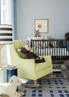 Studio Apartment Nursery the glow | violet gaynor in plum's nursery with nursery works