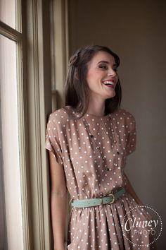 30 Polka Dot Dresses – Cuteness Overload | http://hercanvas.com/polka-dot-dresses-cuteness-overload/