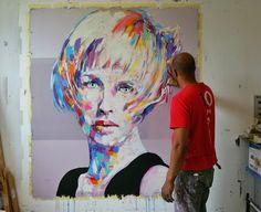 Jerson Jimenez, 2015  Oil on Canvas, 170 x 150 cm., Infos: elmaestrojerson@yahoo.com   SOLD
