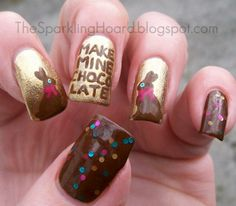 Spring and Easter Nail Art Contest / Giveaway - Entries check out www.MyNailPolishObsession.com for more nail art ideas.
