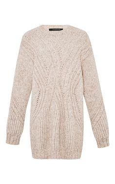 Cable-Knit Mélange Sweater by Thakoon - Moda Operandi