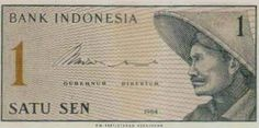 Indonesia 1 Sen for sale online 1, History, Banknote, Ebay, Stamps, Advertising, Culture, Humor, Sports