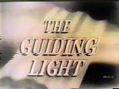 The Guiding Light - CBS - - Daytime Melodrama (Soap Opera) episodes - including radio) Locale: Town of Springfield Running Time: Those Were The Days, The Good Old Days, Vintage Television, Old Time Radio, Soap Stars, Tv Soap, Best Soap, Old Shows, Vintage Tv