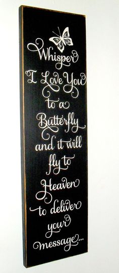 20% OFF TODAY  Whisper I Love You to a by SignsMakeASmile on Etsy