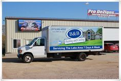 Vehicle Wraps by Pro Dezigns ~ Serving Lake of the Ozarks, Jefferson City and Columbia Areas