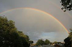 Gorgeous Rainbow from my window (Brooklyn)