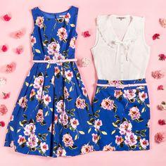 Alouette Prom Dress, Azlee Top & Alouette Skirt   Flatlay HOT OR NOT