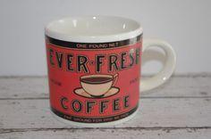 EVER-FRESH COFFEE MUG~1992 YESTER YEAR BRAND~by WESTWOOD  #YesterYear