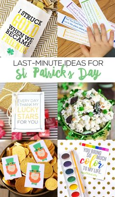 Last-minute? US? NEVER!  Did you know I (Nat) LOVE St. Patrick's Day? I love carrying on the tradition of green pancakeswith my kids, and surprising them with little treats! So…it's really sad that I didn't do ANY St. Patty's Day projects for the blog this year. You GUYS, life has been CRA-ZAY, mostly for...Read More »