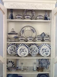 My blue and white dishes