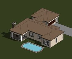 A four bedroom house plans drawing with garages for sale. Browse one storey 4 bedrooms house plans designs and Tuscan house plan designs in South Africa. Four Bedroom House Plans, Tuscan House Plans, 4 Bedroom House Designs, My House Plans, Garage House Plans, Bungalow House Plans, Double Storey House Plans, Built In Braai, African House