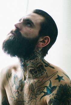 Ricki Hall beard sexiness