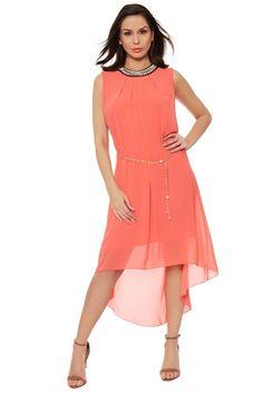 Elora Chiffon Diamante Maxi Dress | Maxi Dresses