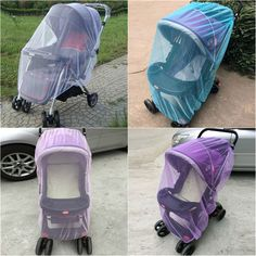 Baby Carriages Anti-mosquito Nets Baby Stroller Mosquito Net All Cover Protection Mesh Pushchair Accessories New #Affiliate