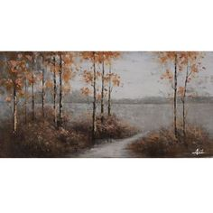 Walking Home: 56 x 28-Inch Wall Art