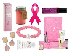 Thinking pink for your bridesmaid gifts? Not only are these pretty picks, but the proceeds are being donated to Breast Cancer Awareness Month causes too!