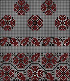 Gallery.ru / Фото #7 - Узоры для женских сорочек - valentinakp