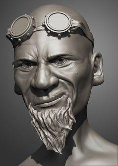 Mechanicus, Max Gorelikov on ArtStation at https://www.artstation.com/artwork/8Rn4E