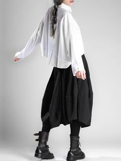 COTTON OVERSIZED SHIRT - JACKETS, JUMPSUITS, DRESSES, TROUSERS, SKIRTS, JERSEY, KNITWEAR, ACCESORIES - Woman -