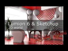 Lumion 6 & Sketchup 3D world