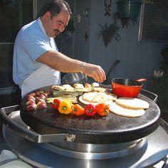 """#new Evo 30"""" Professional Tabletop Circular Flattop BBQ Grill   WoodlandDirect.com: BBQ Grills, Islands & Kitchens, Evo Grills"""