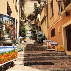 Beautiful Taormina Sicily during Taormina Film Fest.  #MontegrappaTaormina #TaoFF61 #TaorminaFilmFest