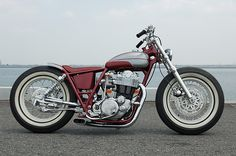 Yamaha SR400 custom motorcycle, by Gravel Crew of Japan