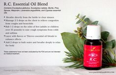 How to use RC To order: https://www.youngliving.com/vo/#/signup/start?site=US&sponsorid=3715638&enrollerid=3715638