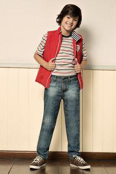 M2A Jeans   Fall Winter 2014   Kids Collection   Outono Inverno 2014   Coleção Infantil   peças   camiseta listrada; colete infantil; calça jeans infantil; jeans; denim.