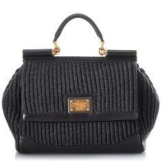 dolce and gabbana handbags | Dolce-and-Gabbana-Medium-Miss-Sicily-Wool-Knit-Top-Handle-Handbag ...