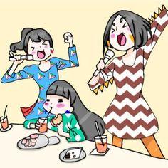 Perfume in anime form Manga Anime, Perfume Jpop, Friend Anime, Fanart, Japanese Artists, Bffs, Album Covers, Techno, Girl Group