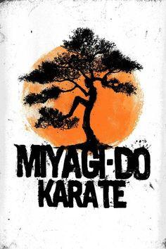 Miatchi-do karate. No, Miyagi-do Miyagi-do karate! The Karate Kid 1984, Karate Kid Movie, Karate Kid Cobra Kai, Miyagi, Karate Kid Quotes, Dojo, Arte Hip Hop, Martial Arts Movies, Minimal Movie Posters