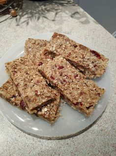 Healthy Bars, Healthy Sweets, Oats Recipes, Cake Cookies, French Toast, Food And Drink, Bread, Cooking, Breakfast