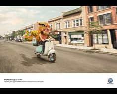 Visible, 2, DDB Buenos Aires, Volkswagen, Print, Outdoor, Ads #print  #inspiration #poster #campaign #werbung #advertisement #brand