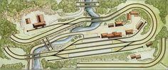 Tworail's Marklin HO Layout - Model Train Forum - the complete model train resource