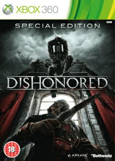 Dishonored: GAME Exclusive Special Edition Xbox 360 Cover Art £21.49 FOR LIMITED TIME ONLY!!!