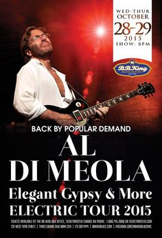 Al Di Meola (10.28-29.15)