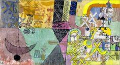 Paul Klee - Asian Travelling Entertainer