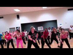 Show Me How You Burlesque cardio dance routine