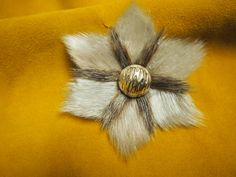 Sealskin broach by Beely Huang