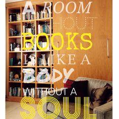 my Library #library #books #aroomwithbooksislikabodywithoutasoul #cicero