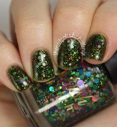 the nail polish challenge: Delush Polish Scream Supreme Collection