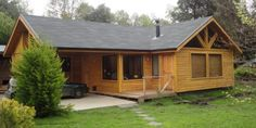 Log Cabin Plans, Tiny House Cabin, Wooden House, Home Fashion, C & A, Shed, Farmhouse, Outdoor Structures, House Styles