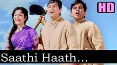 Saathi Haath Badhana (HD) - Mohd. Rafi & Asha - Naya Daur 1957 - Music O...
