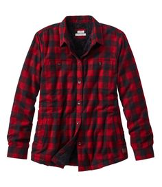 Scotch Plaid Shirt, Sherpa-Lined Red Flannel, Red Plaid, Lined Flannel Shirt, Scotch, Plaid Shirt Outfits, Plaid Shirts, Women's Shirts, Scottish Plaid, Swag