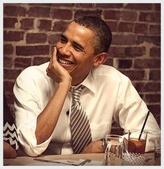 Make a donation today to be automatically entered to win dinner with President Obama and three other supporters.
