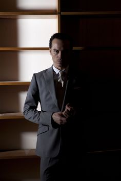 James Moriarty. 'The most dangerous criminal mind the world has ever known.' Also looks spectacular in a suit.