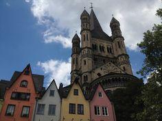 Kirche Groß St. Martin #Koeln http://www.ausflugsziele-nrw.net/gross-st-martin-koeln/